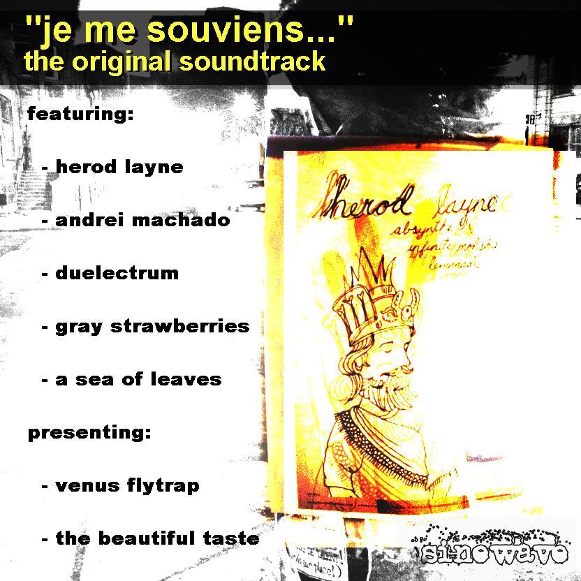 VARIOUS ARTISTS – Je Me Souviens… Original Soundtrack (2009)