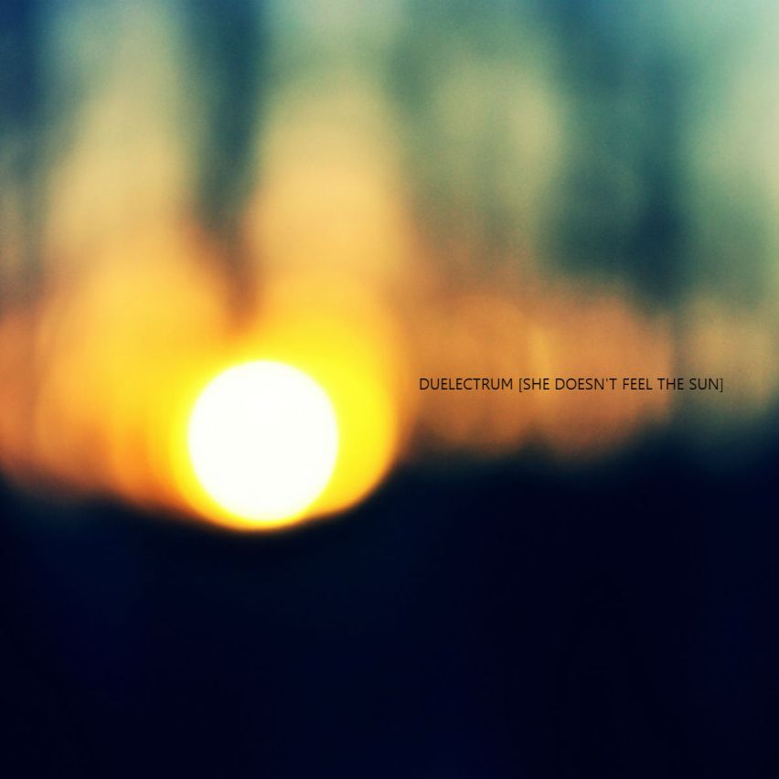 DUELECTRUM – She Doesn't Feel The Sun (2014)